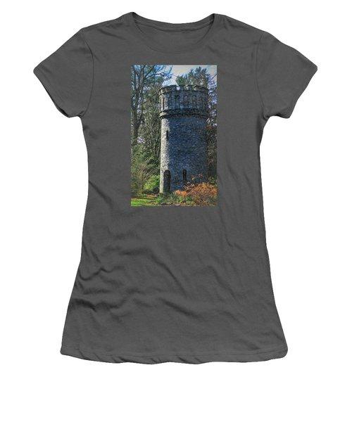 Magical Tower Women's T-Shirt (Junior Cut) by Patrice Zinck