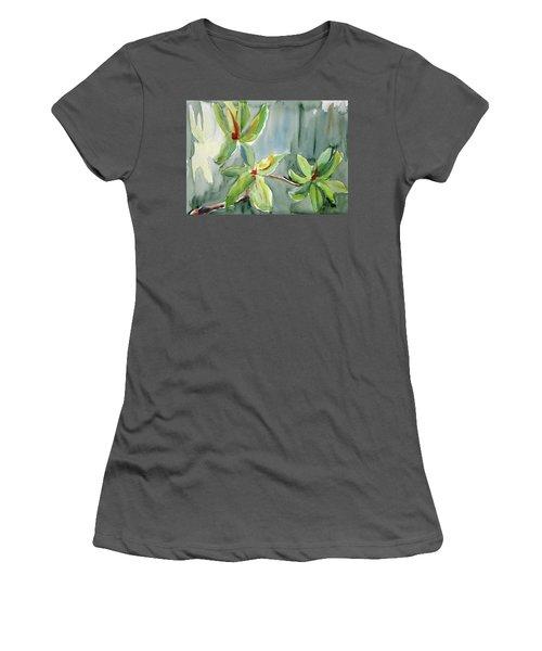 Magnolia Grove4 Women's T-Shirt (Athletic Fit)
