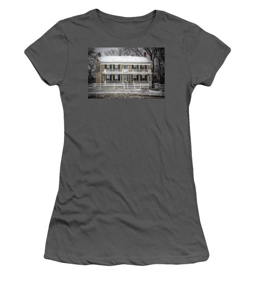 Mahaffie Stagecoach Stop Women's T-Shirt (Athletic Fit)