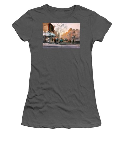 Main Street - Steven's Point Women's T-Shirt (Athletic Fit)