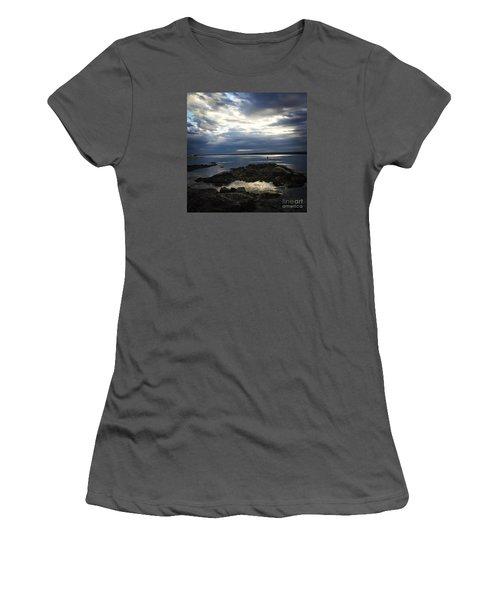 Maine Drama Women's T-Shirt (Junior Cut) by LeeAnn Kendall