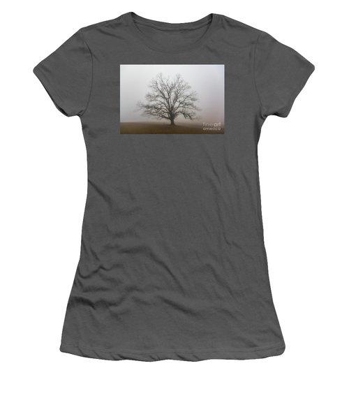 Majestic Fog Women's T-Shirt (Athletic Fit)