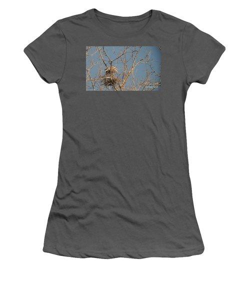 Women's T-Shirt (Junior Cut) featuring the photograph Making Babies by David Bearden