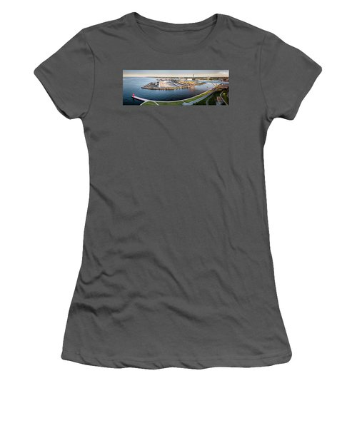 Women's T-Shirt (Athletic Fit) featuring the photograph Making Milorganite by Randy Scherkenbach