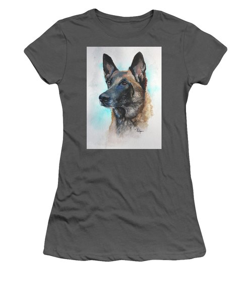 Malinois Women's T-Shirt (Athletic Fit)