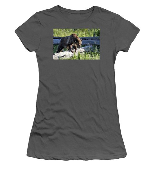 Mama Grizzly Women's T-Shirt (Athletic Fit)