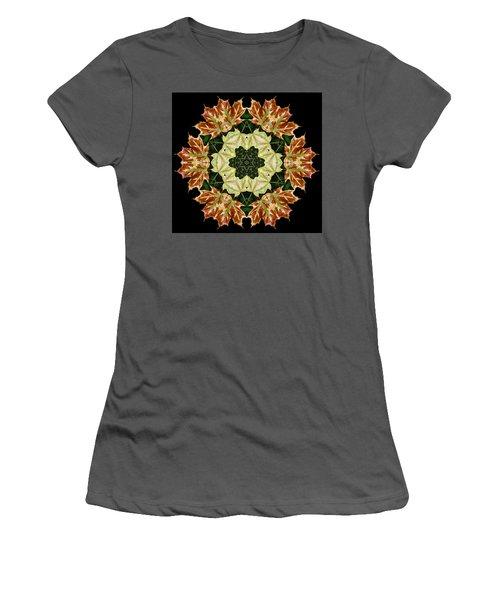 Mandala Autumn Star Women's T-Shirt (Athletic Fit)