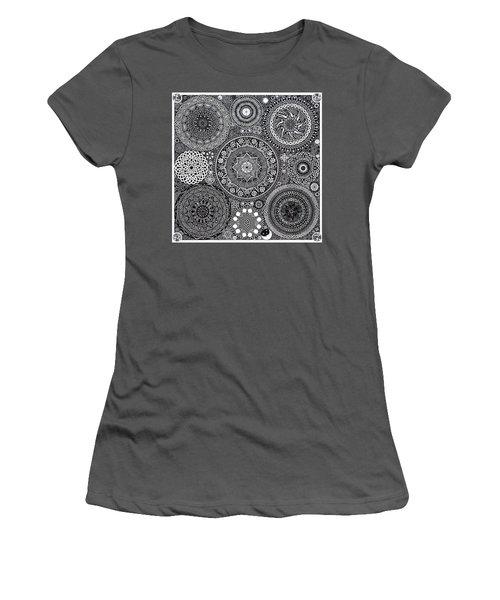 Mandala Bouquet Women's T-Shirt (Athletic Fit)