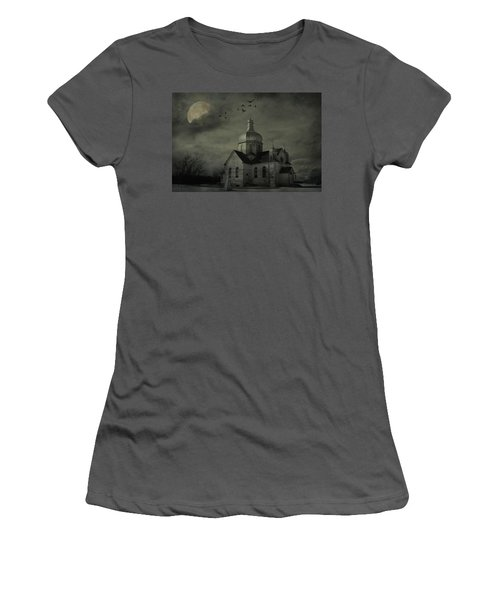 Mannerisms Of Midnight  Women's T-Shirt (Junior Cut) by Jerry Cordeiro