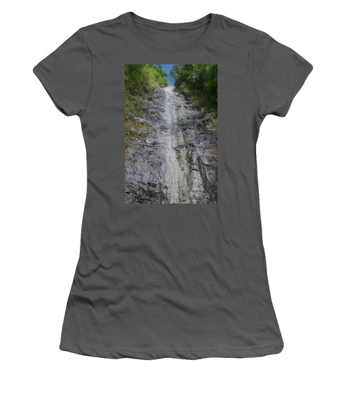 Manoa Falls Women's T-Shirt (Athletic Fit)