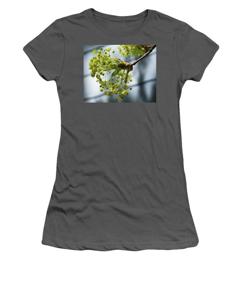 Maple Tree Flowers - Women's T-Shirt (Athletic Fit)