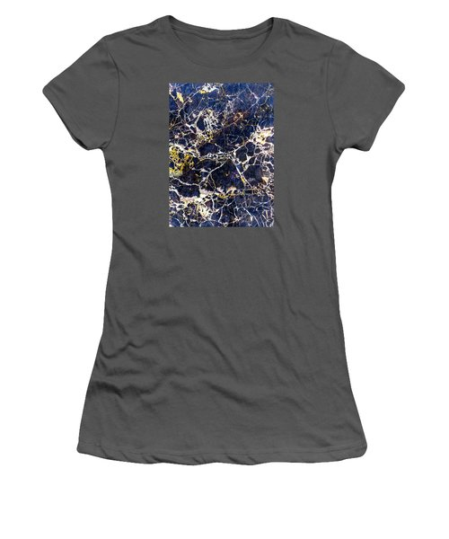 Marble Stone Texture Wall Tile Women's T-Shirt (Junior Cut) by John Williams