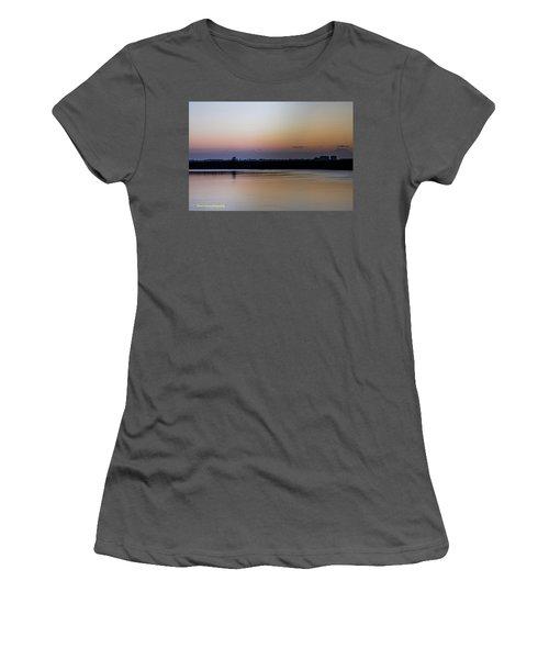 March Pre-sunrise Women's T-Shirt (Junior Cut) by Nance Larson