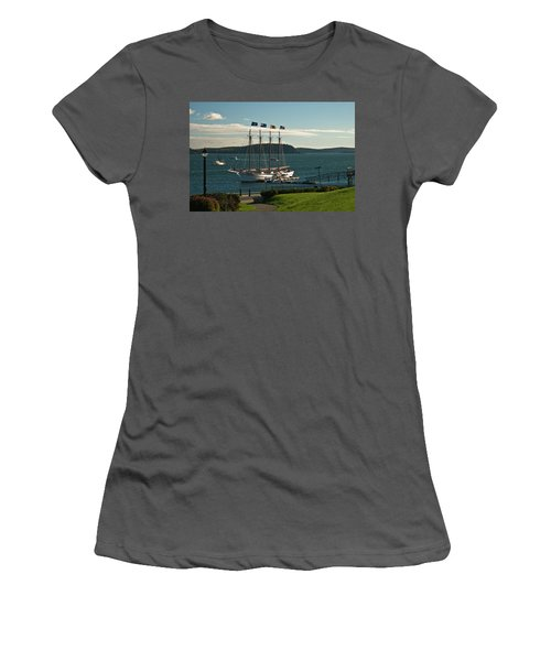 Margaret Todd - Bar Harbor Icon Women's T-Shirt (Athletic Fit)
