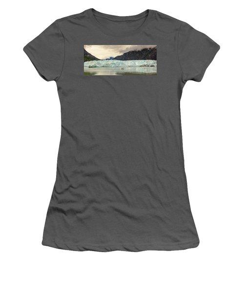 Margerie Glacier Women's T-Shirt (Athletic Fit)