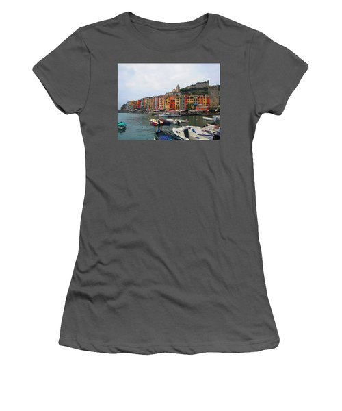Women's T-Shirt (Junior Cut) featuring the photograph Marina Of Color by Christin Brodie