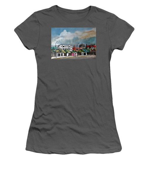F  732 Martello Tower Bray Seafront Wicklow.. Women's T-Shirt (Athletic Fit)