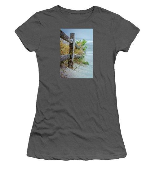 Marvel Of An Ordinary Fence Women's T-Shirt (Junior Cut) by Patrice Zinck