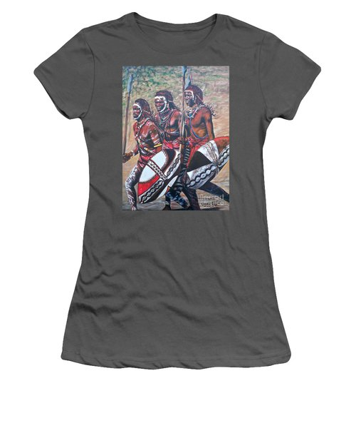 Masaai Warriors Women's T-Shirt (Athletic Fit)
