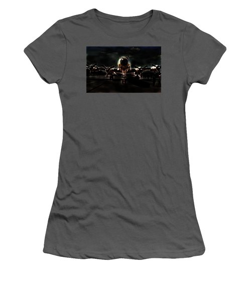 Women's T-Shirt (Athletic Fit) featuring the photograph Mats Constellation by John Schneider