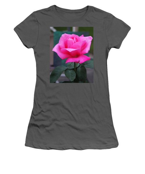 Women's T-Shirt (Athletic Fit) featuring the photograph May Beauty by Vadim Levin