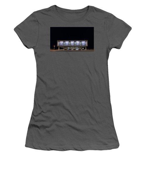 Women's T-Shirt (Junior Cut) featuring the photograph Mcmxliviii by Randy Scherkenbach