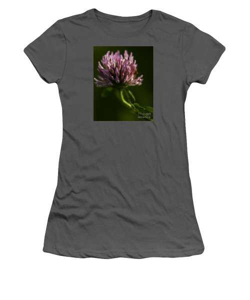 Meadow Clover Women's T-Shirt (Junior Cut) by JT Lewis