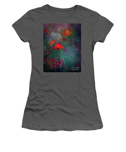 Meadow In Another Dimension Women's T-Shirt (Athletic Fit)