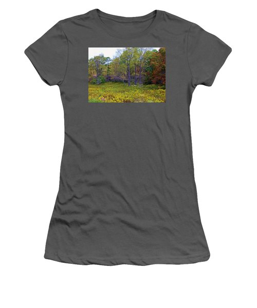 Meadow Of Gold Women's T-Shirt (Athletic Fit)