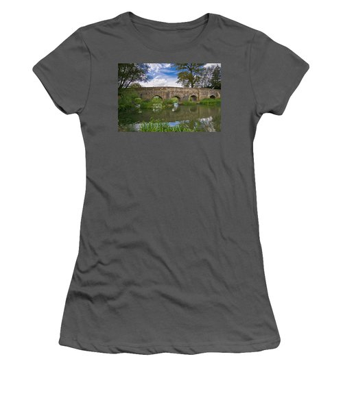 Medieval Bridge Women's T-Shirt (Athletic Fit)