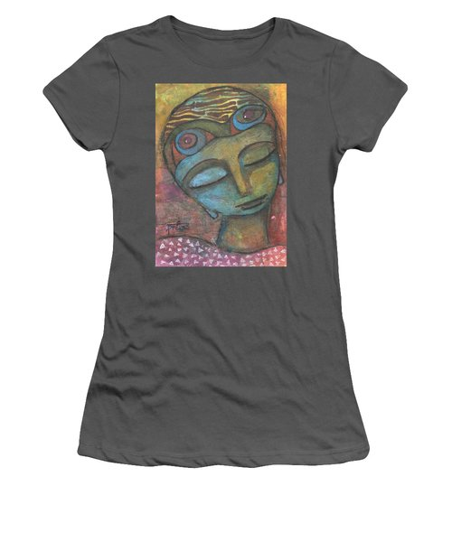 Meditative Awareness Women's T-Shirt (Athletic Fit)