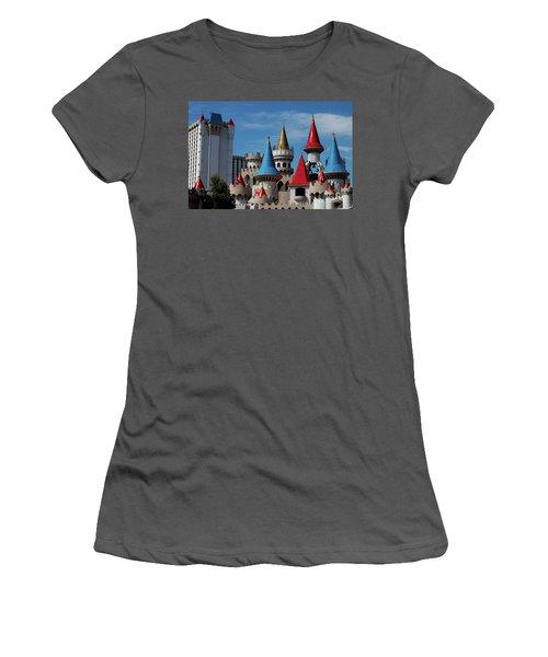 Medival Castle Women's T-Shirt (Athletic Fit)
