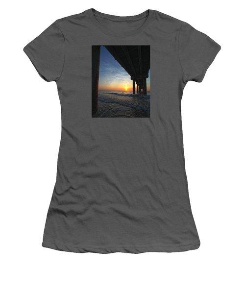 Meeting The Dawn Women's T-Shirt (Junior Cut) by Robert Och