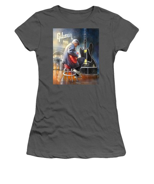 Memphis Nights 05 Women's T-Shirt (Athletic Fit)