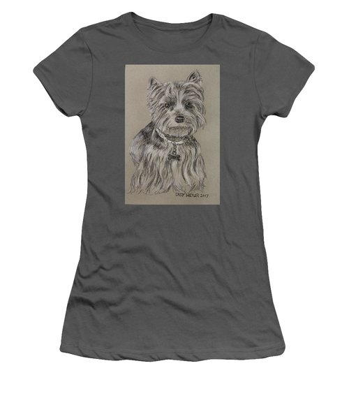 Mercedes The Shih Tzu Women's T-Shirt (Athletic Fit)