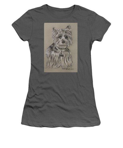 Mercedes The Shih Tzu Women's T-Shirt (Athletic Fit)