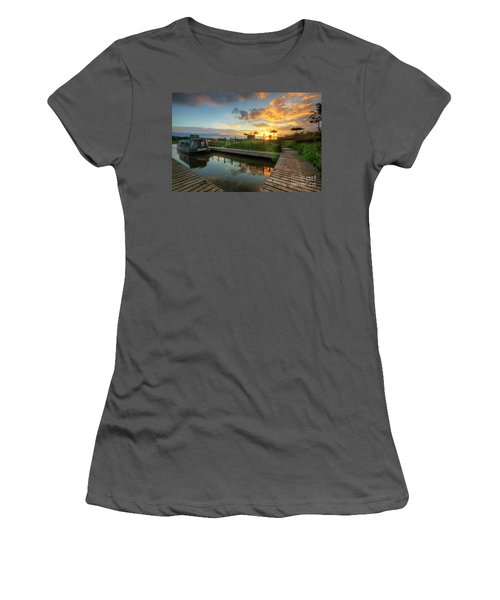 Women's T-Shirt (Junior Cut) featuring the photograph Mercia Marina 13.0 by Yhun Suarez