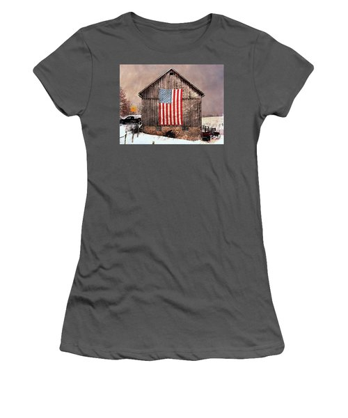 Merica Women's T-Shirt (Athletic Fit)