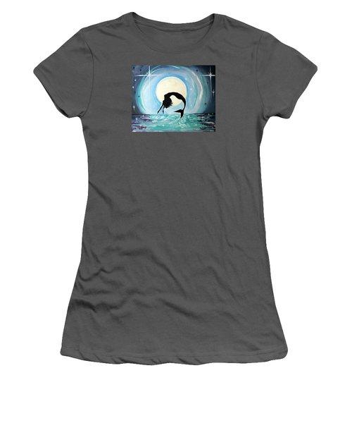 Mermaid Women's T-Shirt (Junior Cut) by Tom Riggs