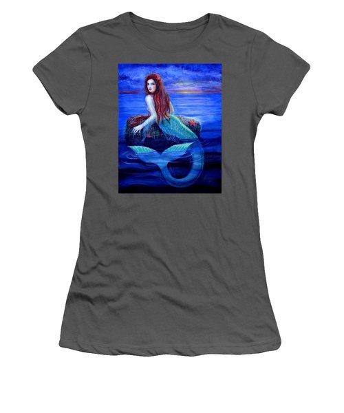 Mermaid's Dinner Women's T-Shirt (Athletic Fit)