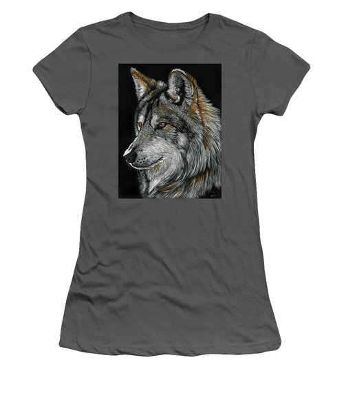 Mexican Wolf Women's T-Shirt (Athletic Fit)