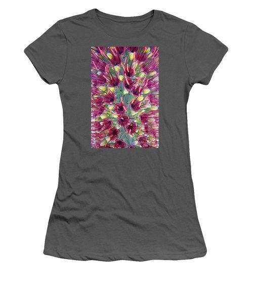 Mezcal Pelon Flowers Women's T-Shirt (Athletic Fit)