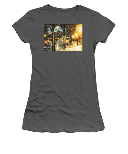 Midnight Reflections Women's T-Shirt (Athletic Fit)