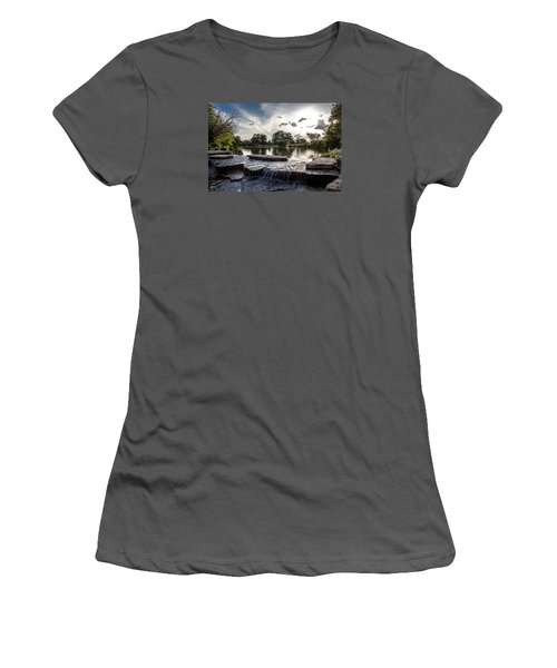 Midwest Sunset Women's T-Shirt (Athletic Fit)
