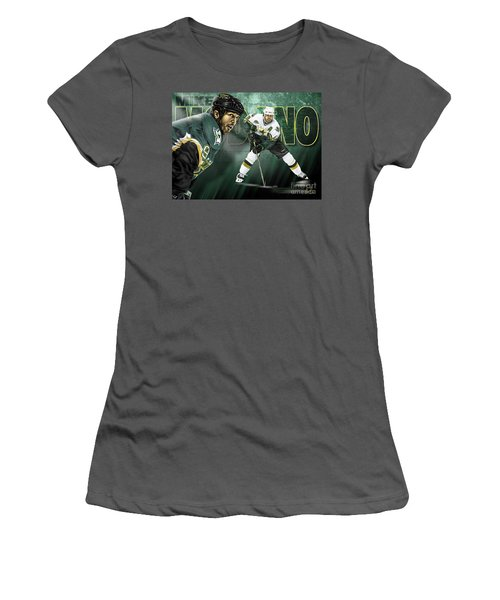 Mike Modano Women's T-Shirt (Athletic Fit)