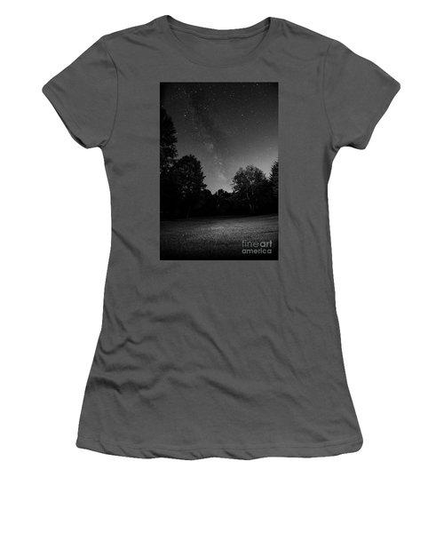 Women's T-Shirt (Junior Cut) featuring the photograph Milky Way by Brian Jones