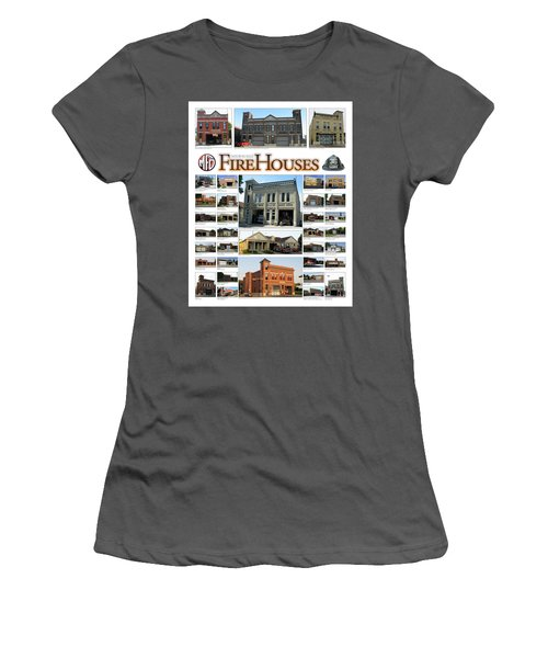 Milwaukee Fire Houses Women's T-Shirt (Athletic Fit)