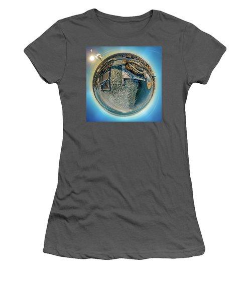 Milwaukee Pierhead Light Little Planet Women's T-Shirt (Athletic Fit)