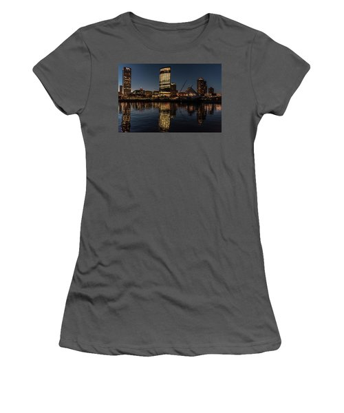 Milwaukee Reflections Women's T-Shirt (Athletic Fit)