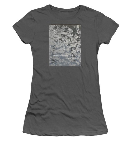 Mind Of Winter Women's T-Shirt (Athletic Fit)